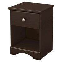 South Shore South Shore Morning Dew Kids Nighstand - Chocolate