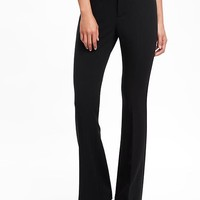Mid-Rise Slim Flare Trouser for Women | Old Navy