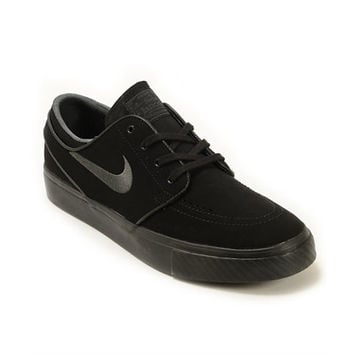 Nike SB Zoom Stefan Janoski Mono Black & Anthracite Skate Shoes