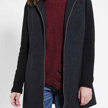 Urban Outfitters - D Collection By Troy Smith Full Zip Hooded Coat