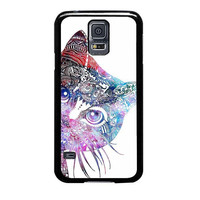 aztec cat in rainbow color samsung galaxy s5 s3 s4 s6 edge cases