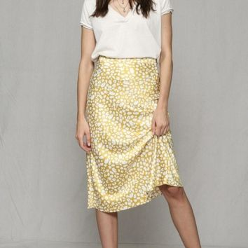 Lemon Leopard Skirt