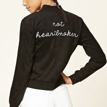 Not Heartbroken Bomber Jacket