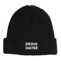 Drink Water Font Beanie