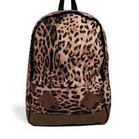 ASOS Backpack in Leopard