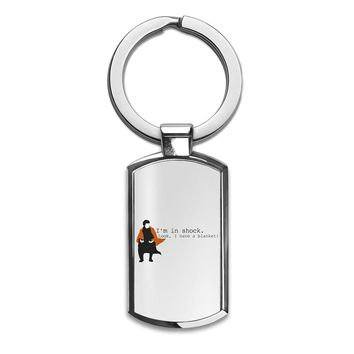 Sherlock Shock Blanket Premium Stainless Steel Key Ring| Enjoy A Unique  & Personalized Key Hanger To Carry Your Keys W/ Style| Custom Quality Prints| Household Souvenirs By Styleart