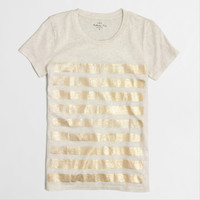 FACTORY FOIL-STRIPE COLLECTOR TEE