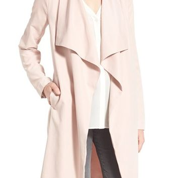 cupcakes and cashmere 'Laswell' Drape Coat | Nordstrom