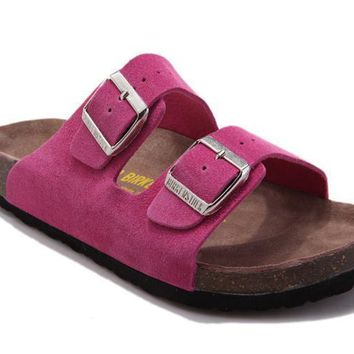 Birkenstock Arizona Sandals Suede Pink