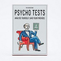 The Redstone Psycho Tests Post Cards - Urban Outfitters