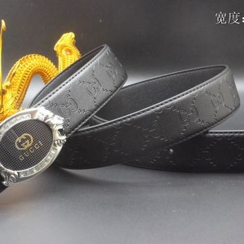 Gucci Belt Men Women Fashion Belts 538098