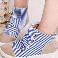 Campus Striped Shoes from sniksa