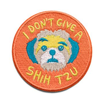 I Don't Give a Shih Tzu   Patch