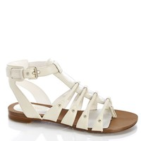 LEATHER BCKLE GLADIATOR