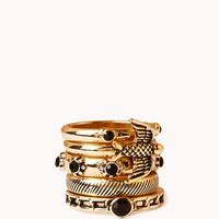Lacquered Stackable Rings