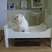 Antique Victorian Toddlers Bed/ Dog Bed/ by VictorianCountryChic