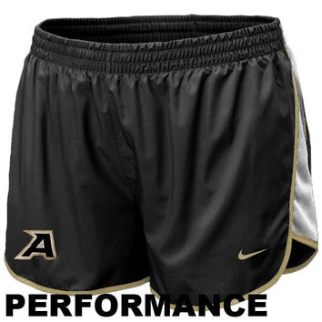 Nike Army Black Knights Women's Tempo Performance Shorts - Black