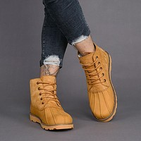 UGG Men Leather Fur Winter Snow Boots Shoes
