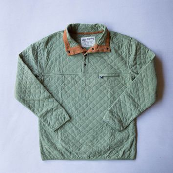 Rock Monkey Outfitters Quilted Pullover Green