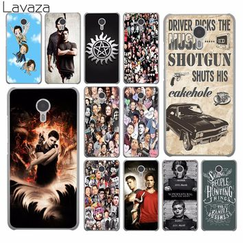 Lavaza Supernatural Jensen Ackles Dean Winchest Hard Phone Shll Case for Meizu M6S M3 M3S M5 Mini M6 Note M5S M5C Back Cover