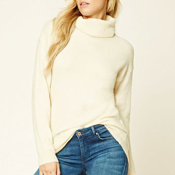 Contemporary Cowl Neck Sweater