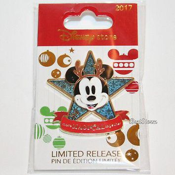 Licensed cool Disney Store 2017 Christmas Holiday Limited Release MICKEY Pin Magical Together
