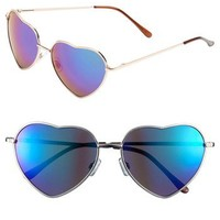 BP. 'Flash' Heart Shaped Sunglasses | Nordstrom