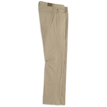Sateen Stretch Five-Pocket Pant