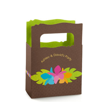 Luau - Personalized Everyday Party Mini Favor Boxes