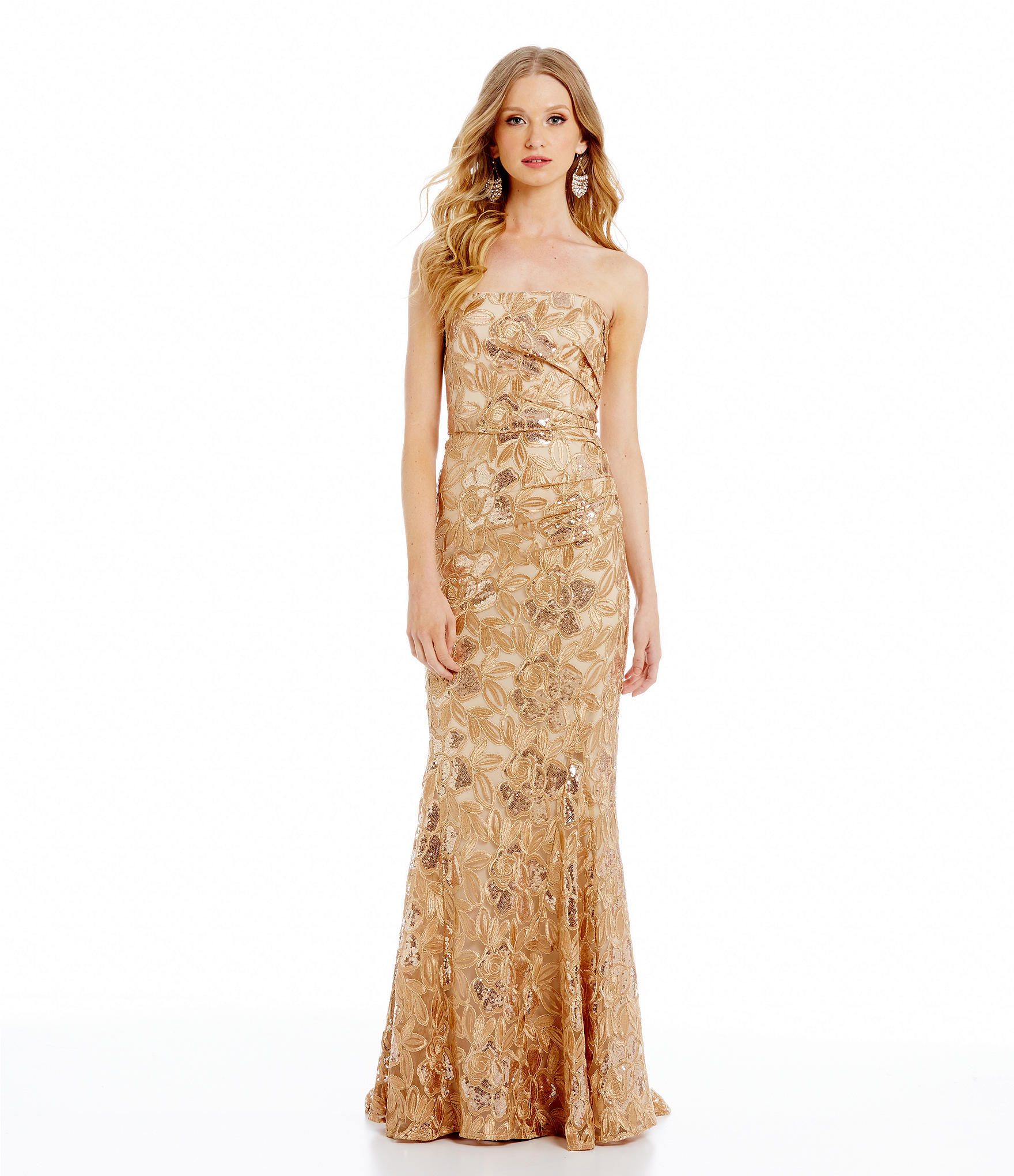 Belle Badgley Mischka Heaven Foiled from Dillard\'s | Dresses
