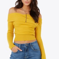 Shoulder To Shoulder Top