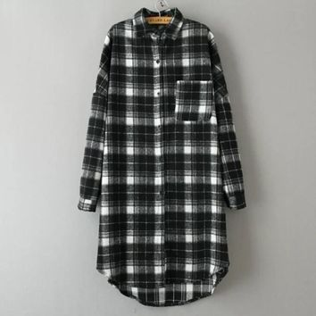 mystery oversized flannel shirts for women  number 1