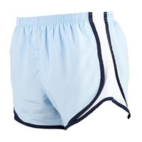 Boxercraft Ice Blue with White , Velocity Short - Lightweight Womens & Girls Sizes