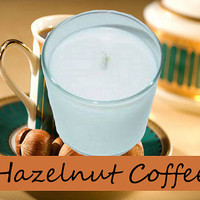 Hazelnut Coffee Scented Candle in Tumbler 13 oz