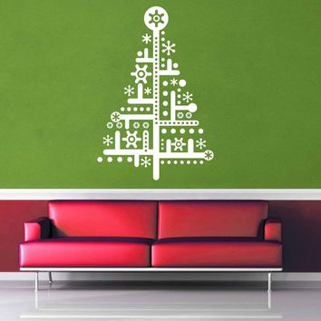 Circuit - Christmas Tree - Wall Decal$8.95