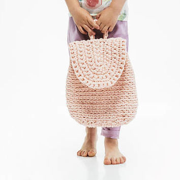 Crochet Bag / Crochet Kids' Backpack / Adults Crochet Bag