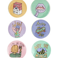 FUN 'N PASTEL BADGES – tibbs & BONES