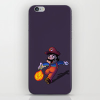 Mario iPhone & iPod Skin by DROIDMONKEY
