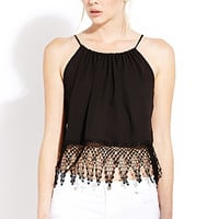 Mysterious Moment Halter Top