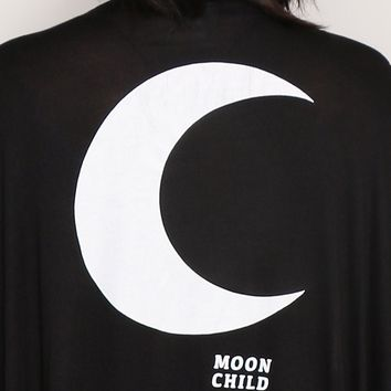 Moon Child Kimono - Tops - Clothes at Gypsy Warrior
