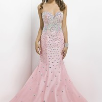 Blush Prom 9703 Strapless Sweetheart Dress