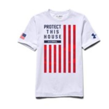 Under Armour Boys' UA PTH Flag T-Shirt