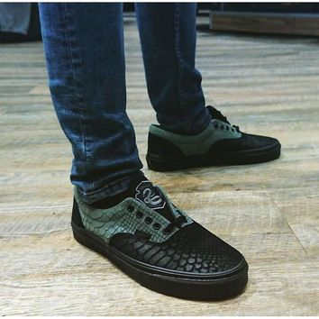 6 Colors SLYTHERIN VANS X HARRY POTTER™ ERA Limited Edition Original Men Sneakers Low Top Women shoes
