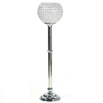 Classy Long and Sleek Lamp with Stones