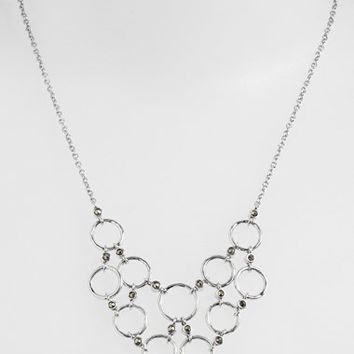 Women's Judith Jack 'Chain Reaction' Bib Necklace