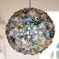 Raleigh Pendant Light by glasslionhome on Etsy
