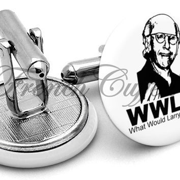 WWLDD Larry David Cufflinks