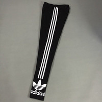 """ Adidas "" Like Fashion Print Exercise Fitness Gym Yoga Running Leggings Sweatpants _2  _ 3166"