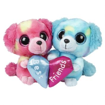 BFF 6 INCH PLUSH DOG SET | GIRLS STUFFED ANIMALS GIRL STUFF | SHOP JUSTICE