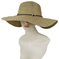 BEAD FLOPPY MIDDLE BRIM SUN HAT